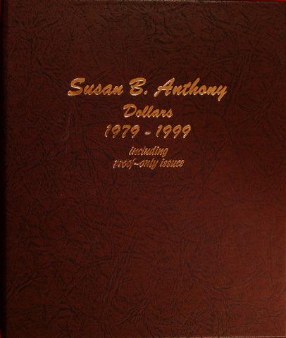 1979-1999 PDS Susan B. Anthony Dollars (with Type 2 1979-S and 1981-S)