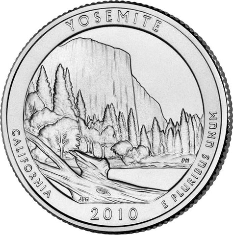 2010 Yosemite National Park, CA Quarter