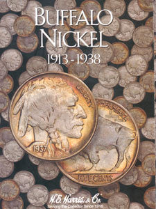 Buffalo Nickel Harris Coin Folder