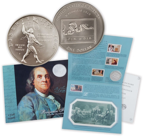 2006 Franklin Coin and Chronicles Set