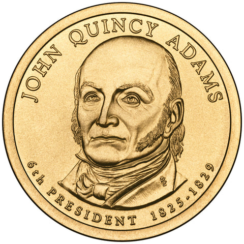 2008 John Quincy Adams Presidential Dollar