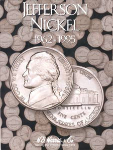 Jefferson Nickel Harris Coin Folder