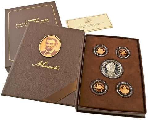 2010 Abraham Lincoln Coin and Chronicles Set