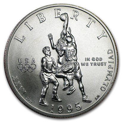 1995-S Olympic Basketball Half