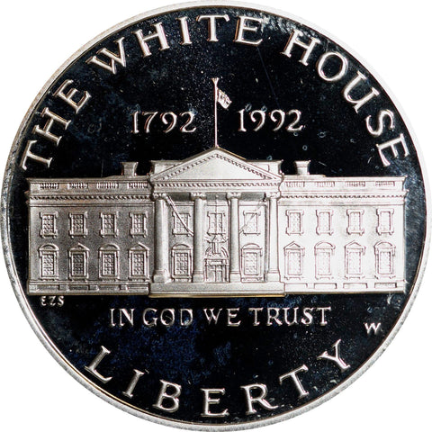1992-W White House Silver Dollar