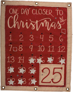 Christmas Countdown Wall Banner