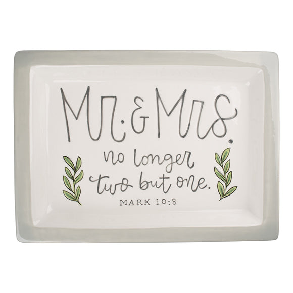 Mr & Mrs Trinket Tray
