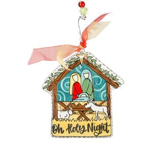 Oh Holy Night Ornament
