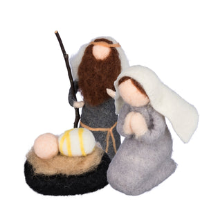 Felt Nativity (Holy Family)