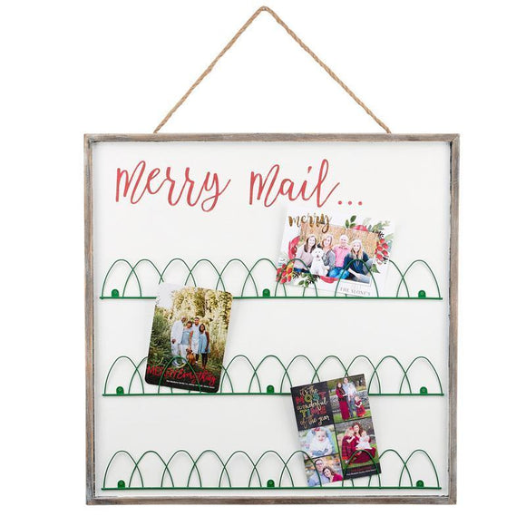 Merry Mail / Love This Life Reversible Wire Photo Board