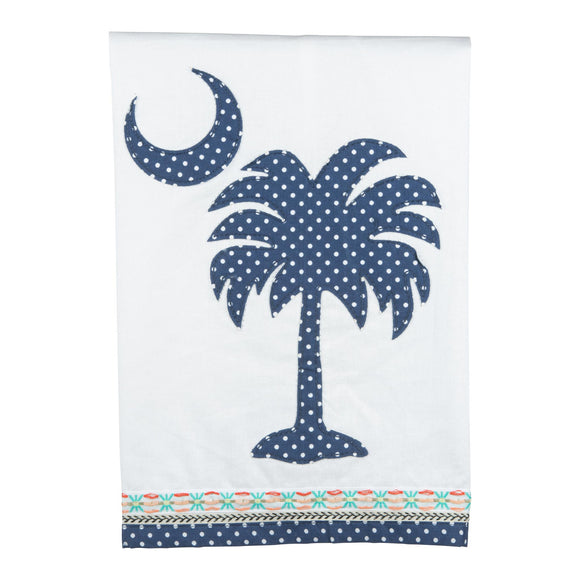 South Carolina Palmetto Tea Towel