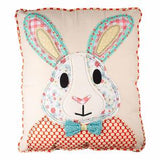 Love You More Bunny Pillow