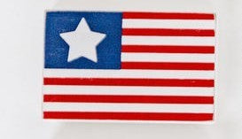 Flag Wood Cutout
