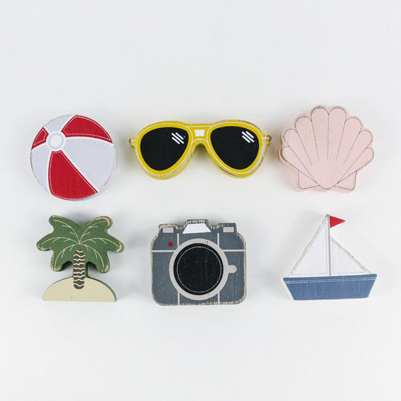 Wood Vacation Cutouts