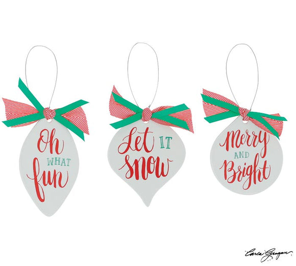 Whimsical Christmas Messages (Choice of Three Styles)