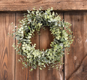 Faux Baby Eucalyptus Wreath