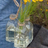 Hanging Flower Bottles (set of 3)