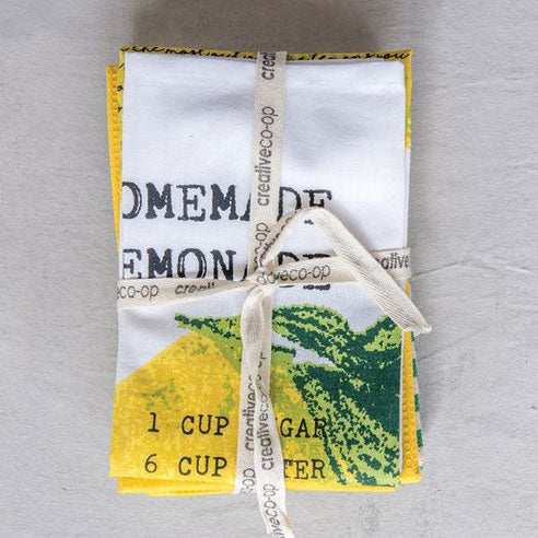 Lemonade Cotton Tea Towels (Set/3)