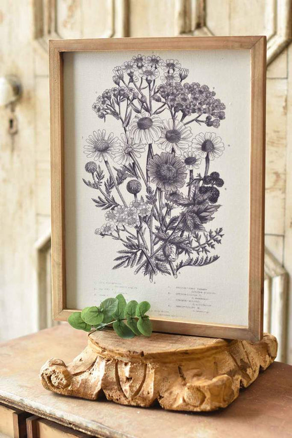 Bountiful Botanical Framed Wall Art