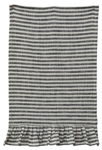 Cotton Striped Tea Towel (Available in two colors)