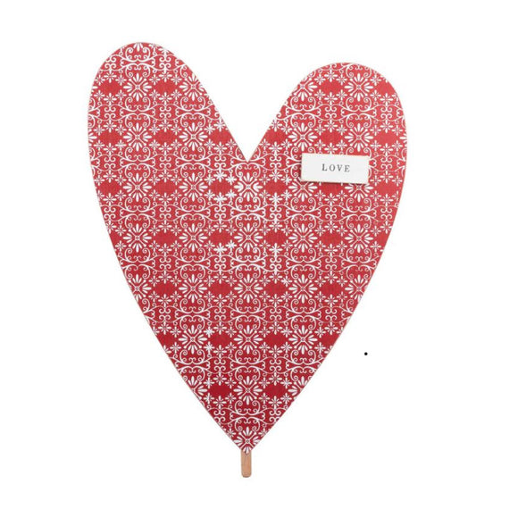 Valentines Heart Topper