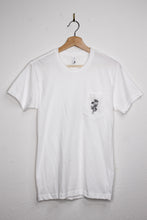 Load image into Gallery viewer, Daisy Floral Hand Embroidered Pocket T-Shirt