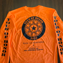 Load image into Gallery viewer, 2020 Shirt, black on orange