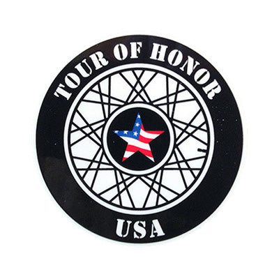 Tour of Honor Sticker