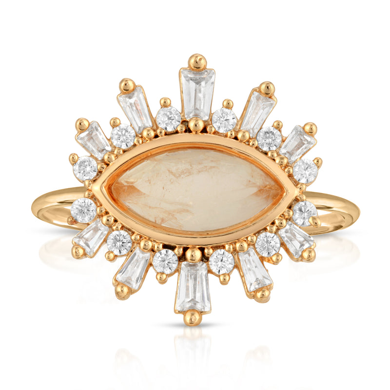 Athena Ring - Moonstone