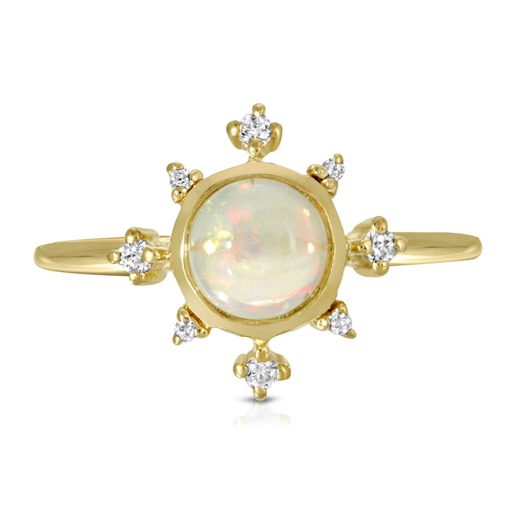 Estella Ring - Opal