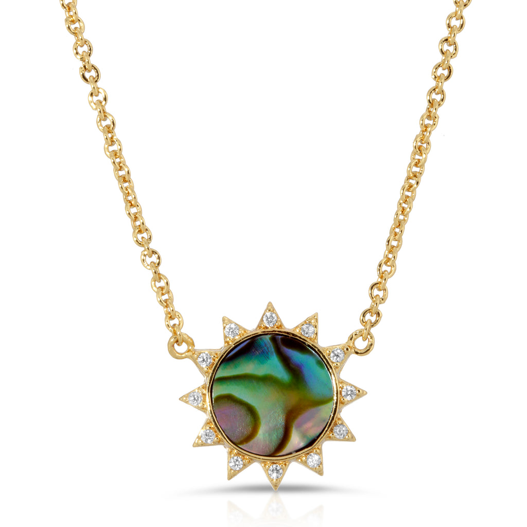 Soleil Necklace - Abalone