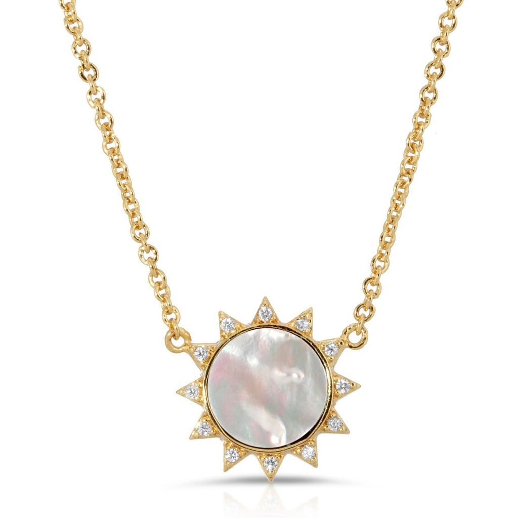 Soeil Necklace - Mother of Pearl