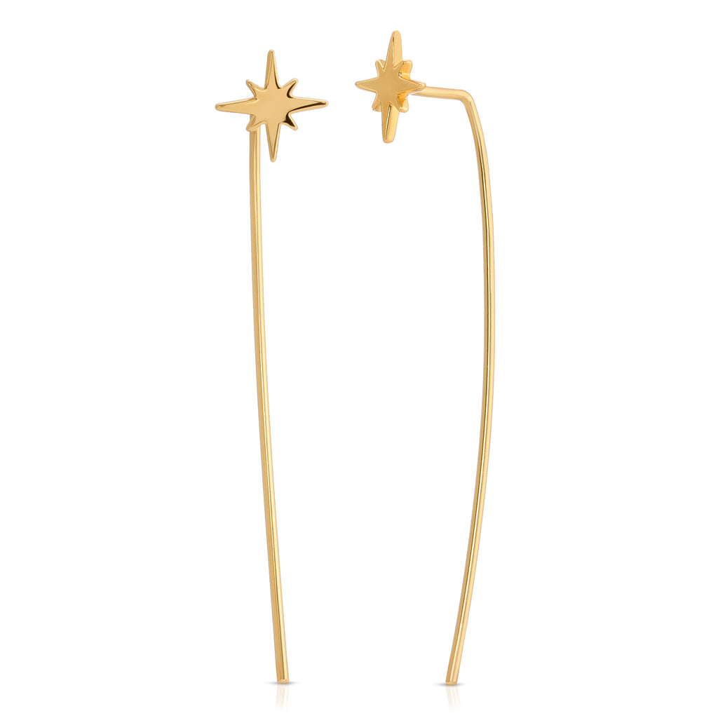 Starburst Swoop Earrings