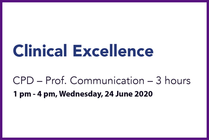 Clinical Excellence 24th Wed June