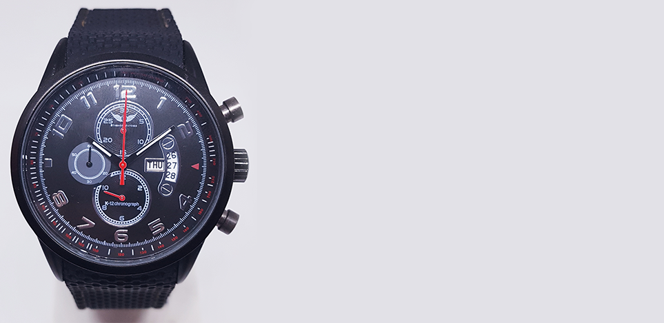 Fierce & Reliable <br>K-12 Chronograph
