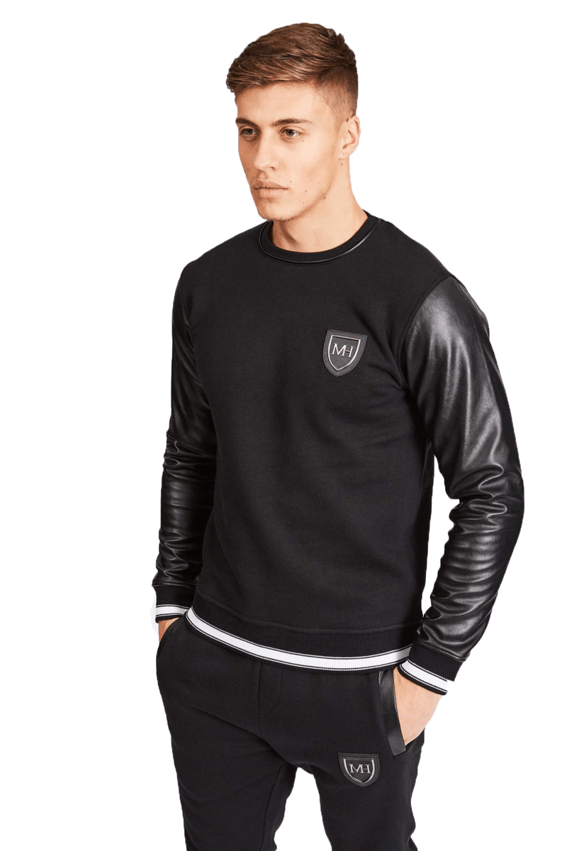 Bordeaux Black Jumper