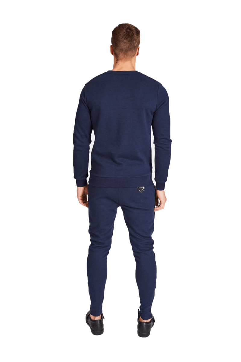 Caxton Navy Sweater