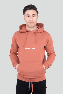 Classic Logo Pullover Rust Hoodie