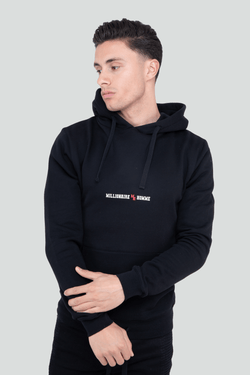 Classic Logo Pullover Black Hoodie