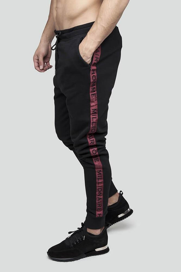 Classic Taped Black Jogger
