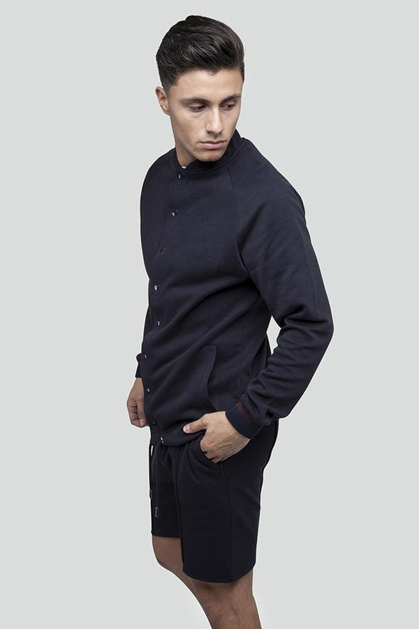 Kilo Bomber Navy Sweater