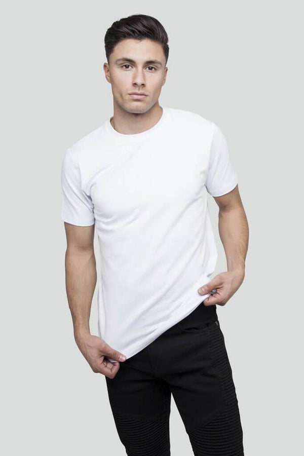 Essential Tape White T-Shirt