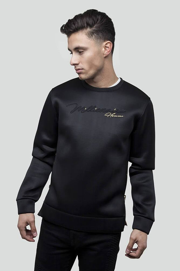 Signature Black Jumper