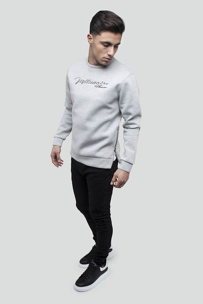 Signature Grey Jumper