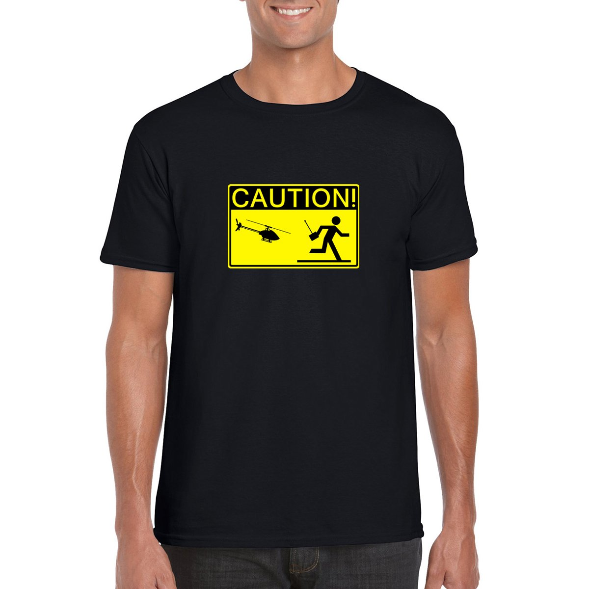 CAUTION! HELICOPTER PILOT T-Shirt