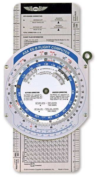 Colour E6B Flight Computer