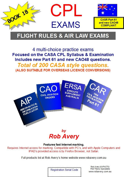 4 CPL Flight Rules & Air Law Book of Exams part 61