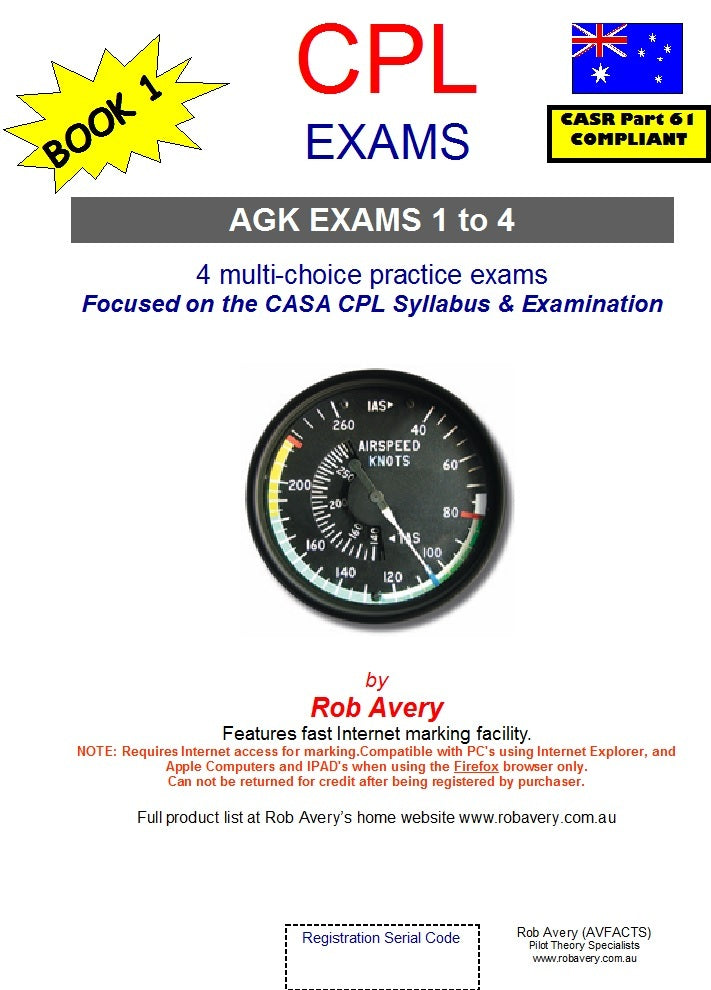 4 CPLAircraft General Knowledge 1-4  Book of Exams