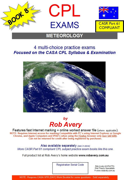 4 CPL Meterology Book of Exams (Avfacts)