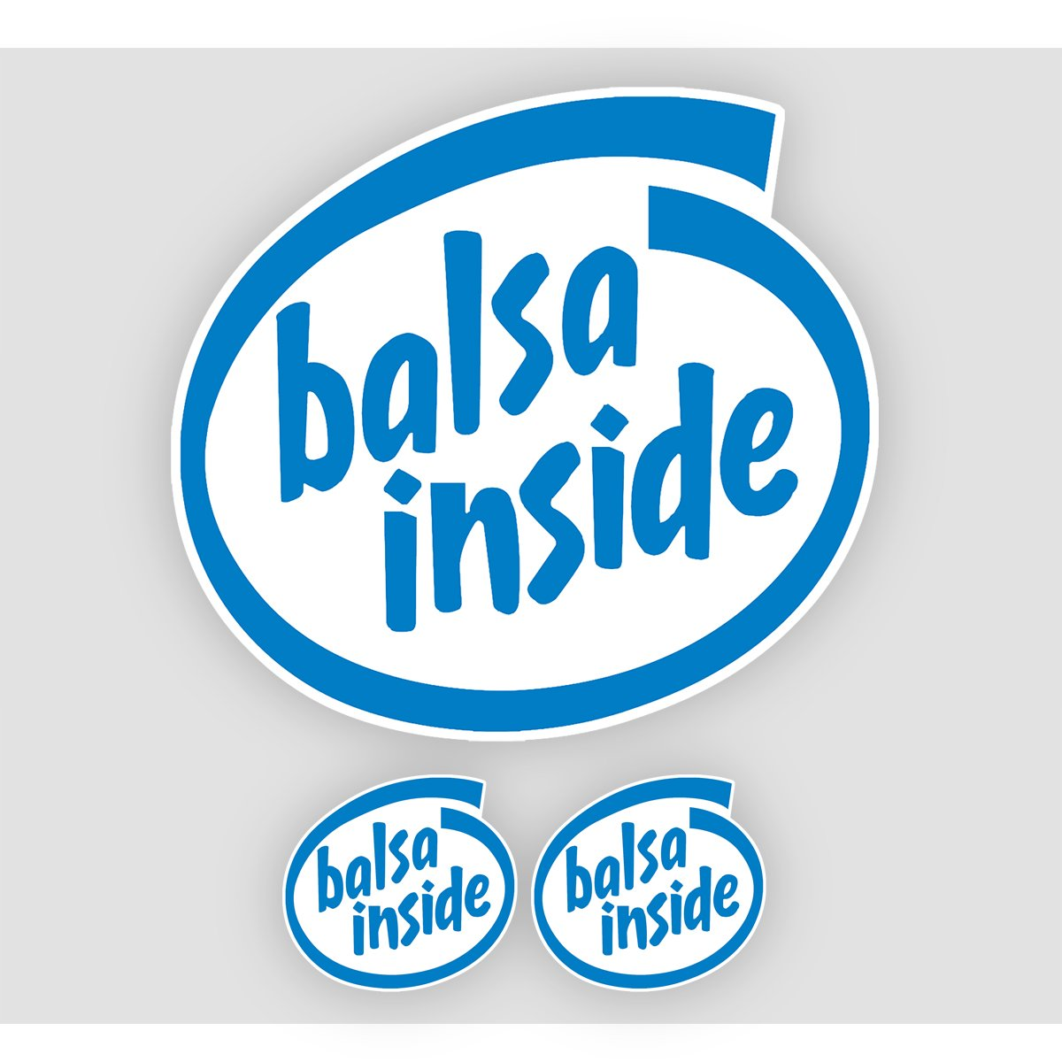 BALSA INSIDE Stickers
